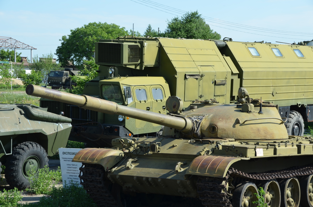 Ein sowjetischer Panzer