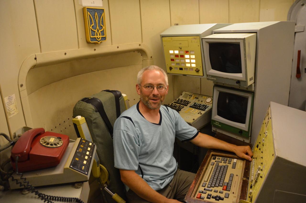 Unterirdische Kommandozentrale vom Raketenmuseum