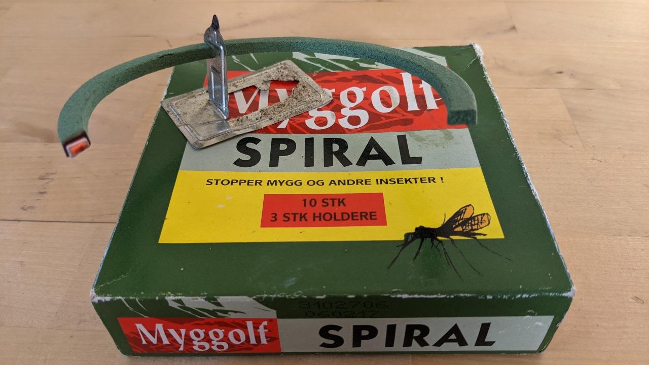 Myggolf Mückenspirale